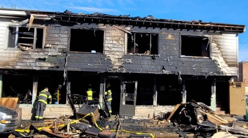 Man found dead in Edinburgh apartment fire