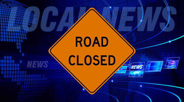County Road 450 North Closed All This Week