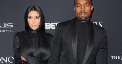 Kim Kardashian Flew To Kanye's Album Listening Party